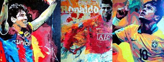 Messi, Ronaldo & Neymar