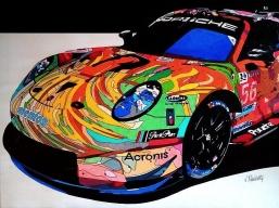 Porsche 911 RSR Project one . Le Mans 2019