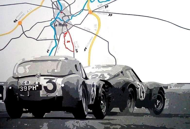 AC Cobra - Ferrati GTO  Le Mans 1963